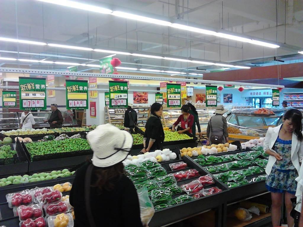 拉萨的超市