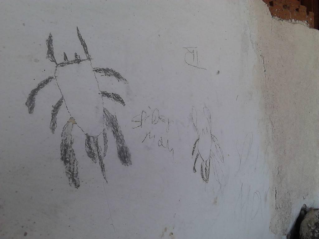 墙上的涂鸦