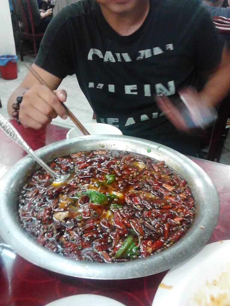 成都饭店的水煮鱼