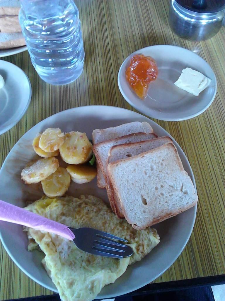 做得还不错的早餐呀