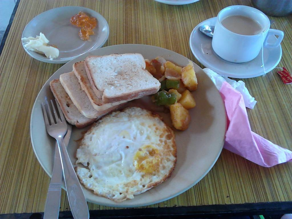 Tiger Camp的早餐