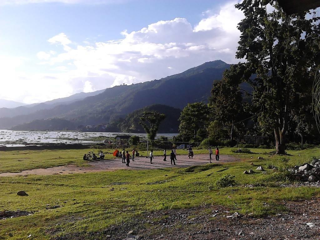 费瓦湖 排球