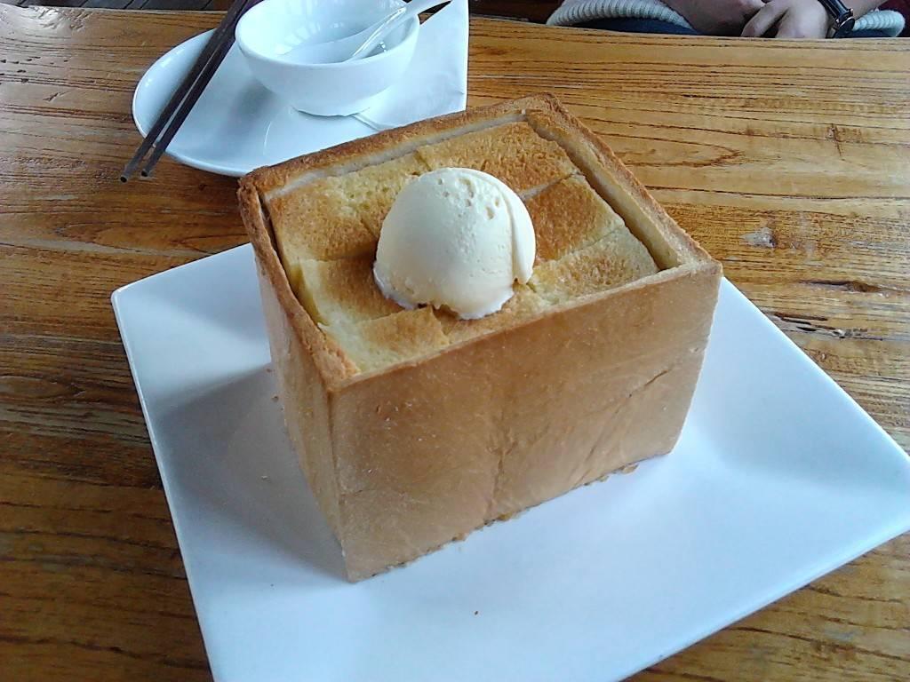 绿茶的面包诱惑