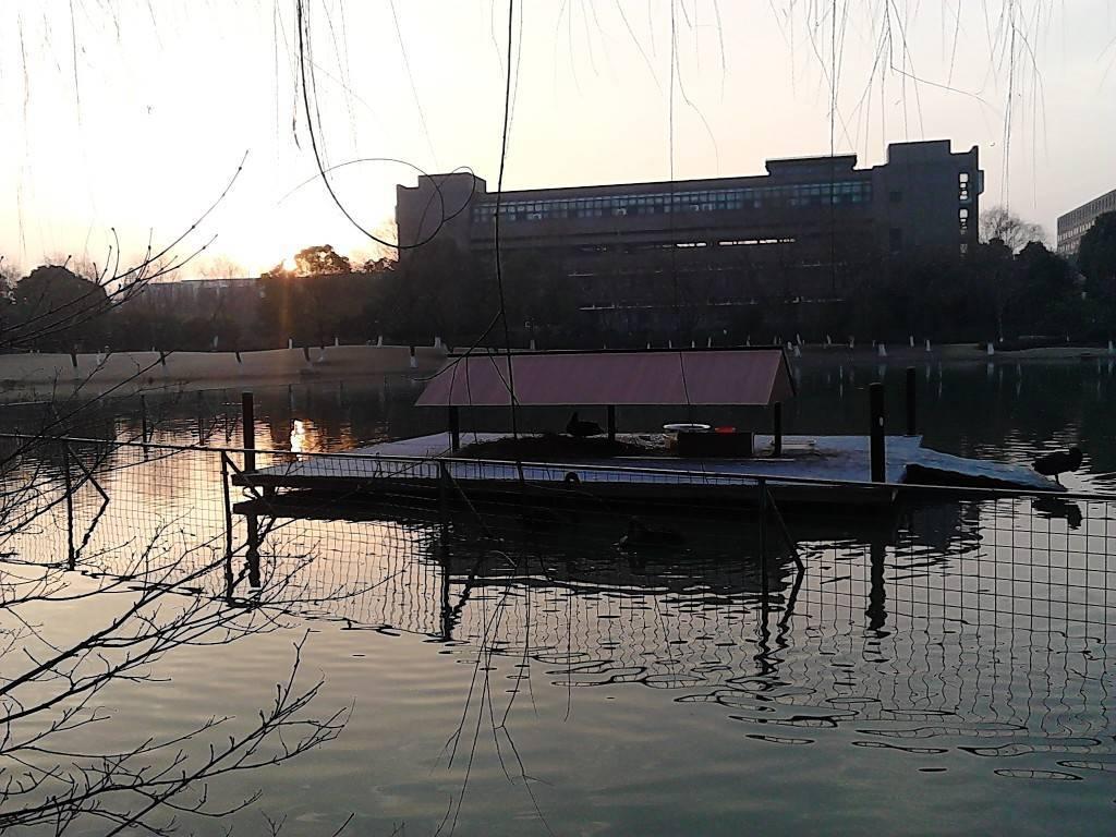 浙大人工湖