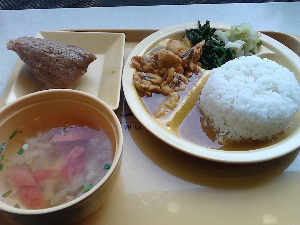 菠萝咖喱鸡饭