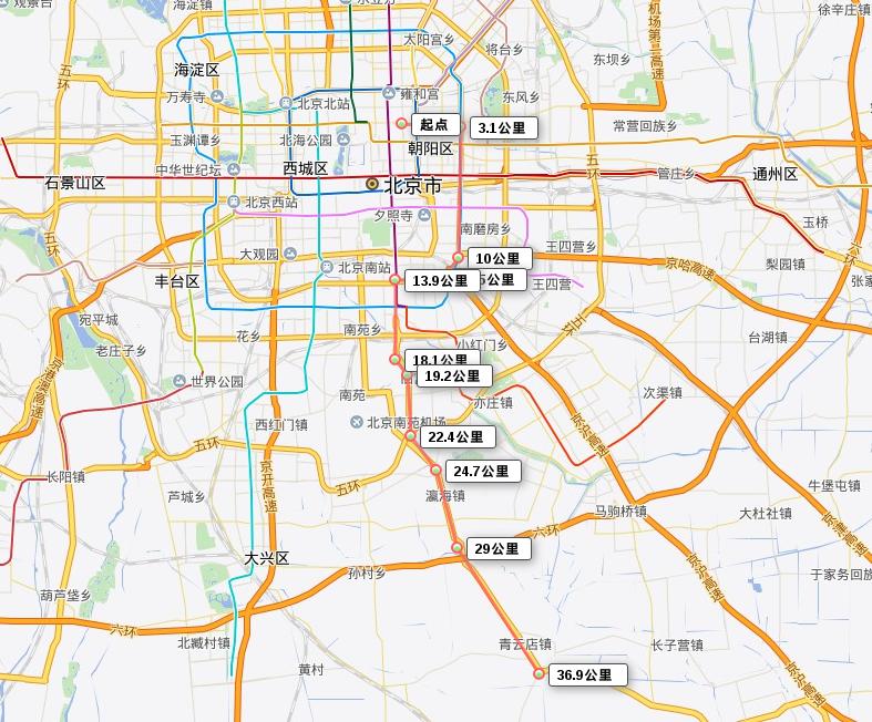 Beijing Route
