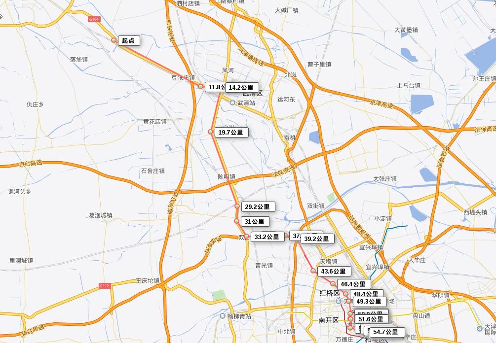 Tianjin Route