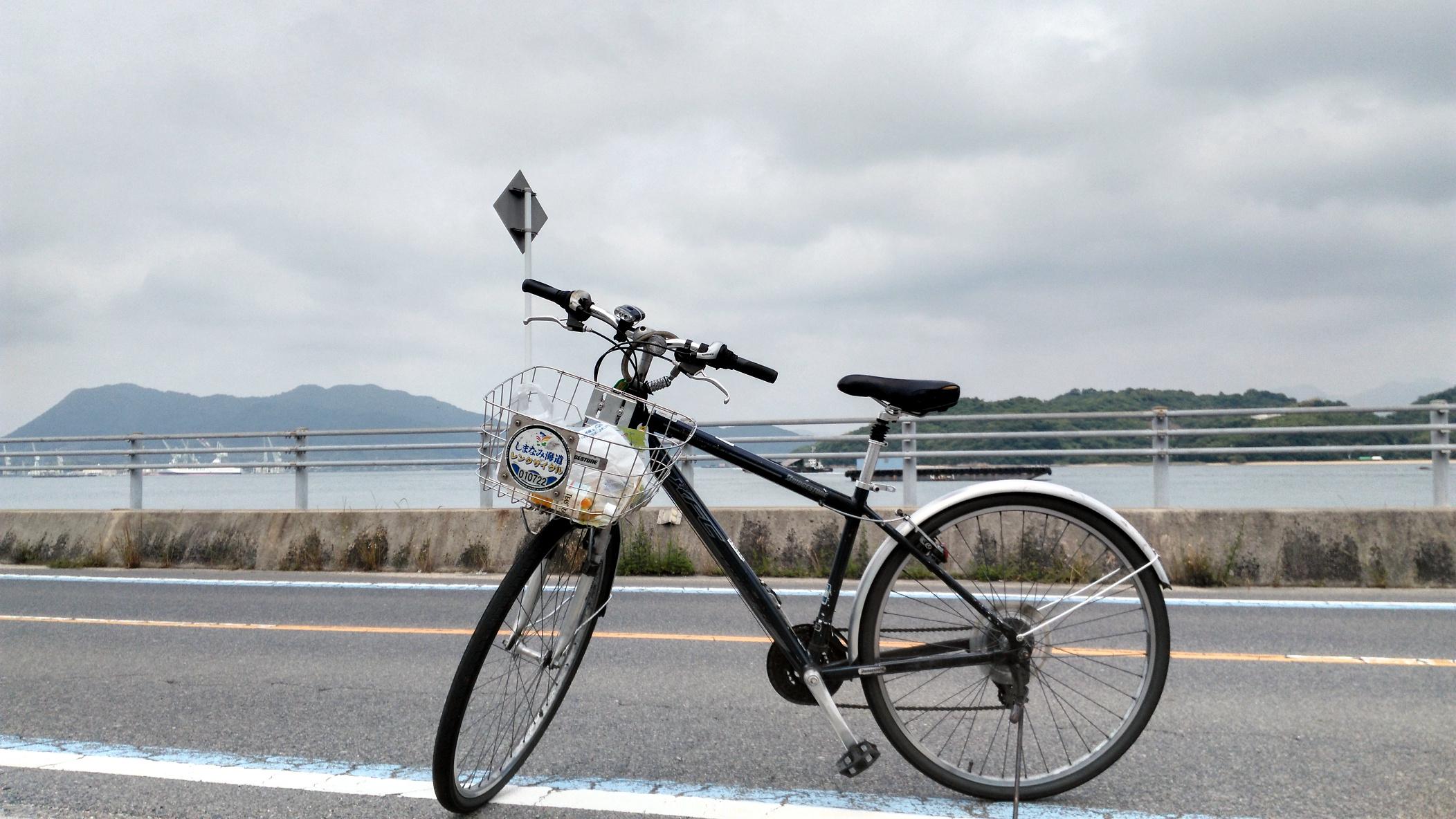 尾道市租的自行车