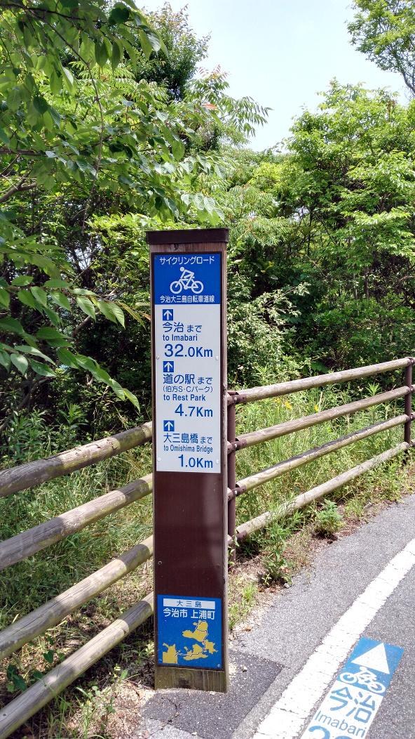 岛波海道路牌