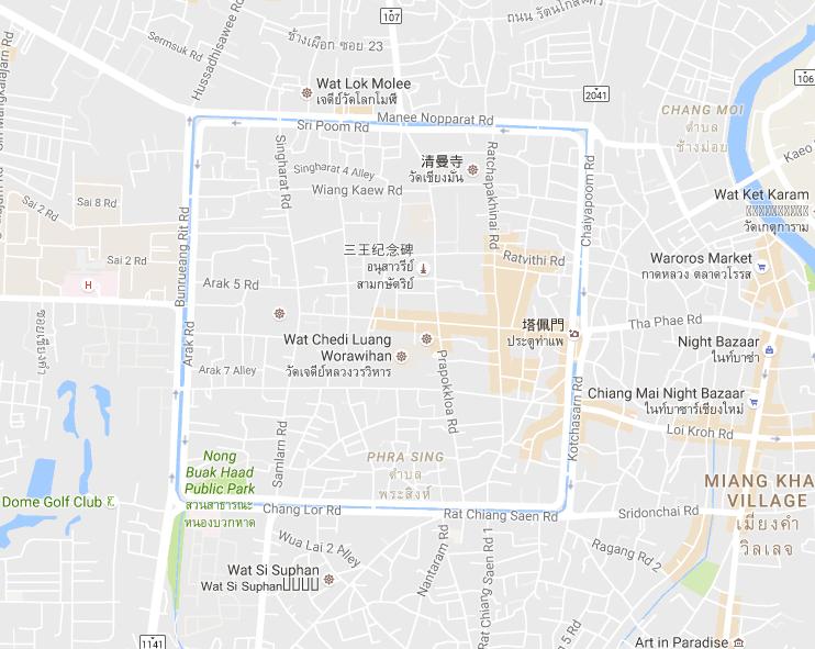 来源 Google Map