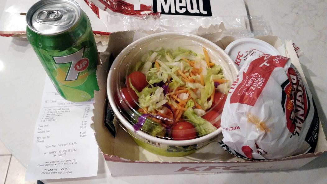KFC超值套餐