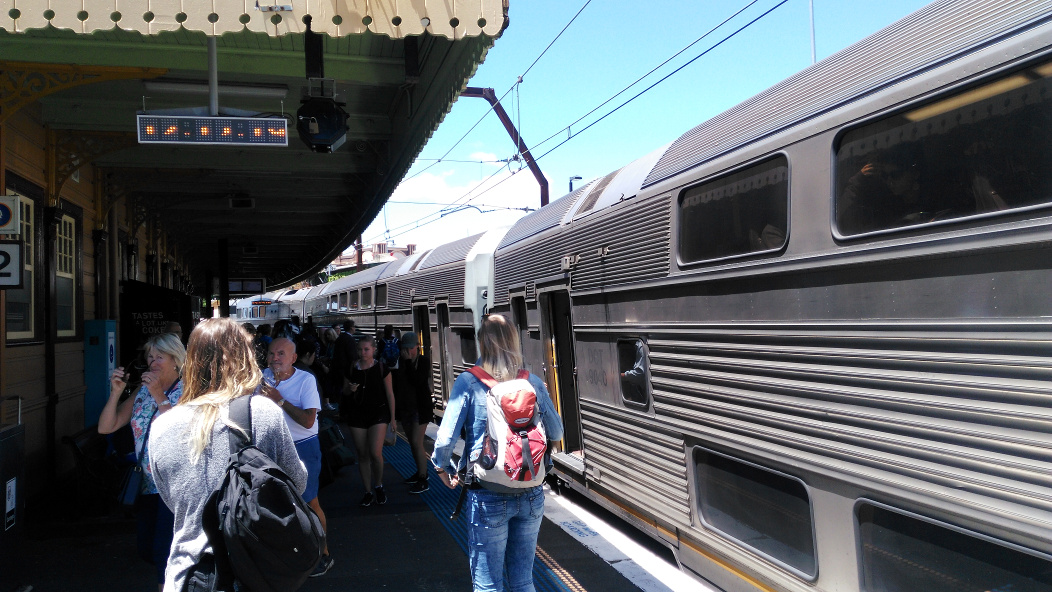 Sydney inter-city train